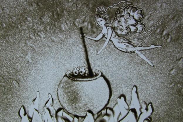 pesochnaya animacia na prazdnik kiev harkov